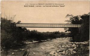 CPA Martinique. Lorrain. Le pont de la Riviére Capot MADAGASCAR (625609)