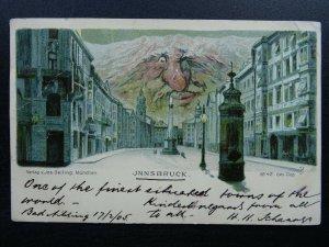 Austria INNSBRUCK OLD MAN MOUNTAIN Nordkette Range c1905 Postcard V. Jos Seiling