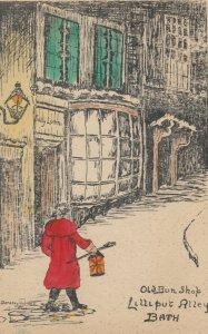AS: BATH , England, 00-10s ; Old Bun Shop, Lilliput Alley : Dorothy Holmes