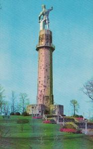 Alabama Birmingham Vulcan Monument Atop Red Mountain