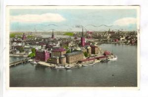 RP; Stockholm. View from the Town Hall Tower, PU-1945