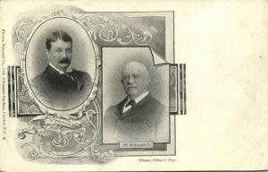 BOER WAR, Mr. Hofmeyer and Mr. Schreiner (1899)