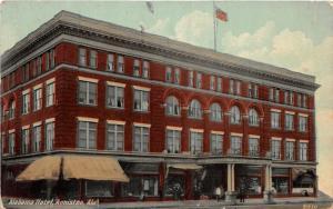 F15/ Anniston Alabama Postcard c1910 Alabama Hotel Building