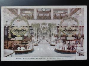 USA: Chicago, Marshall Field & Company Retail Store - Old Postcard