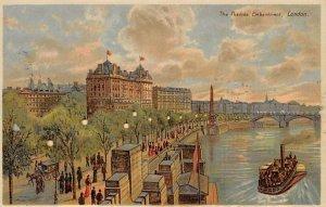 Thames Embankment London, England Hold to Light Unused