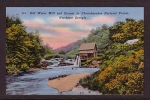 Linen colour PC Water Mill & Strean Chattahoochee National Forest, GA unused