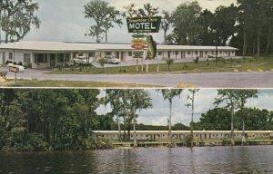 CRESCENT CITY, Florida, 1950-1960s; Tangerine Cove Motel, Resort & Restaurant