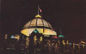 The Beautiful Flower Building Illuminated Canadian National Exhibition,  Toro...