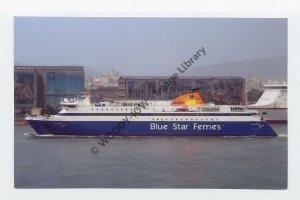 mp033 - Blue Star Ferry - Blue Star Naxos - photograph 6x4