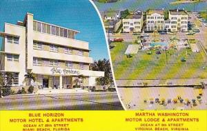 Florida Miami Beach Blue Horizon Motor Hotel & Apartments