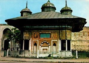 Turkey Istanbul Ahmet III Fountain