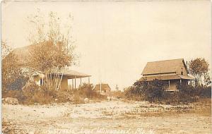 Lake Winnecook ME Cottages Eastern Illustrating 1910 RPPC Postcard