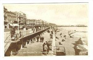 Lower Parade & Shelters, St Leonards-on-Sea, Uk, 30-50s