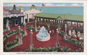New Jersey Atlantic City Marlborough-Blenheim Hotel The Ocean Plaza 1949