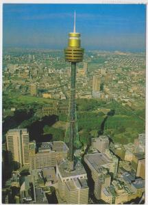AERIAL VIEW SYDNEY TOWER AUSTRALIA