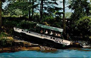 Wisconsin Dells Duck Entering Lake Delton