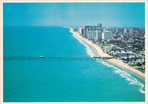 Aerial View Fishing Pier Lauderdale By The Sea Florida