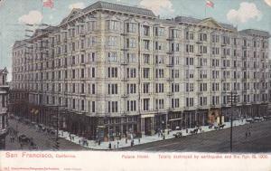 SAN FRANCISCO, California, PU-1907; Palace Hotel