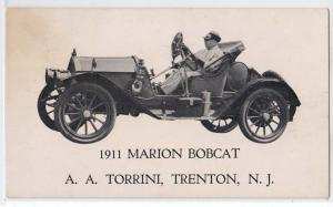 1911 Marion Bobcat, A A Torrini, Trenton NJ