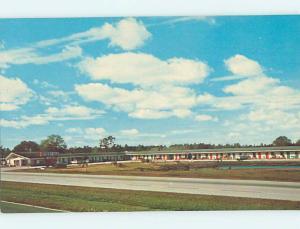 Unused Pre-1980 DESERT ISLE MOTEL Lawtey Florida FL n8582