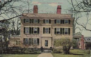 Massachusetts Cambridge Lowell House 1912