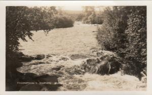 RP: BURKS FALLS , Ontario , 1930-40s ; Thompson's Rapids