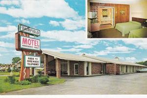 Fairfield Motel,Winnsboro, South Carolina 1950-60s