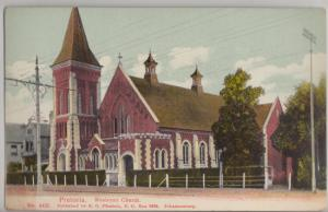 PRETORIA - WESLEYAN CHURCH  on Andries Street in Gauteng Province 1900s