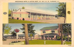 Breezewood Motel Coffee Shop Florence, South Carolina