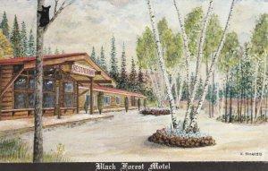 BATCHAWANA BAY, Ontario , 1930-60s , Black Forest Motel