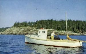 Lobsterman on the Coast Misc ME 1963