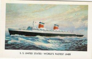 S.S. UNITED STATES - World's Fastest Ocean Liner , 40-60s