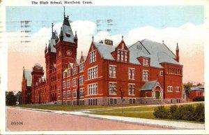 Connecticut Hartford High School 1922