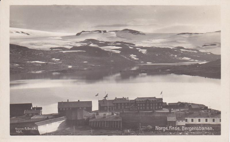 RP: Norge. Finse. Bergensbanen , 10-30s