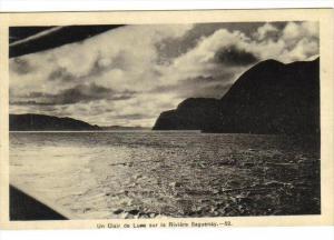 Un Clair de Lune , Saguenay River, Quebec , Canada , 30-40s