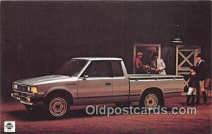 Postcard Post Card Datsun Trucks