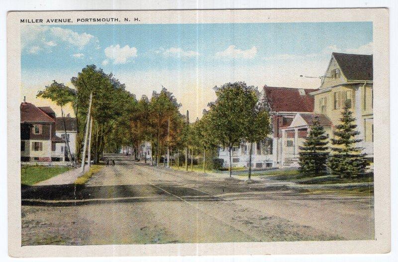 Portsmouth, N.H., Miller Avenue