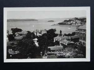 Australia NSW SYDNEY HARBOUR Elizabeth Bay - Old RP Postcard