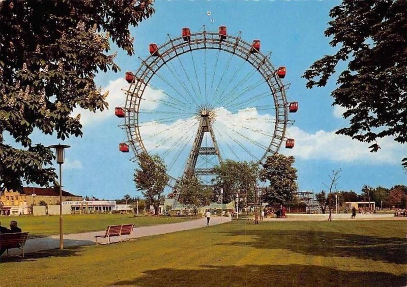 Wien Riesenrad, Vienna Prater Big Wheel Promenade
