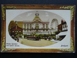 Lancashire BLACKPOOL Winter Gardens & Opera House - Old Postcard by Rotary