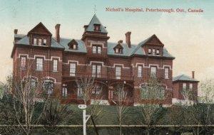 PETERBOROUGH, Ontario, Canada, 1911; Nicholl's Hospital