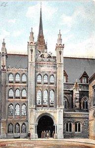 Guildhall London United Kingdom, Great Britain, England Unused