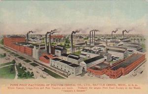 Michigan Battle Creek Postum Cereal Plant