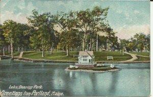 Lake, Deering Park, Greetings From Portland, Maine