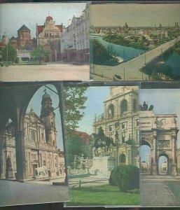 pc705 postcard Munich Munchen Germany TEN all MOBSC