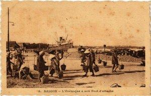 CPA AK VIETNAM SAIGON - L'Orénoque a son Port d'attache (321662)