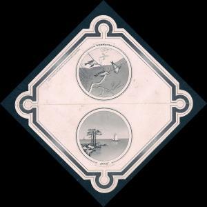 VICTORIAN TRADE CARD George T Keen Washington Tailor