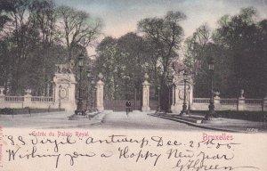 BRUXELLES, Belgium, PU-1910; Entree Du Palais Royal