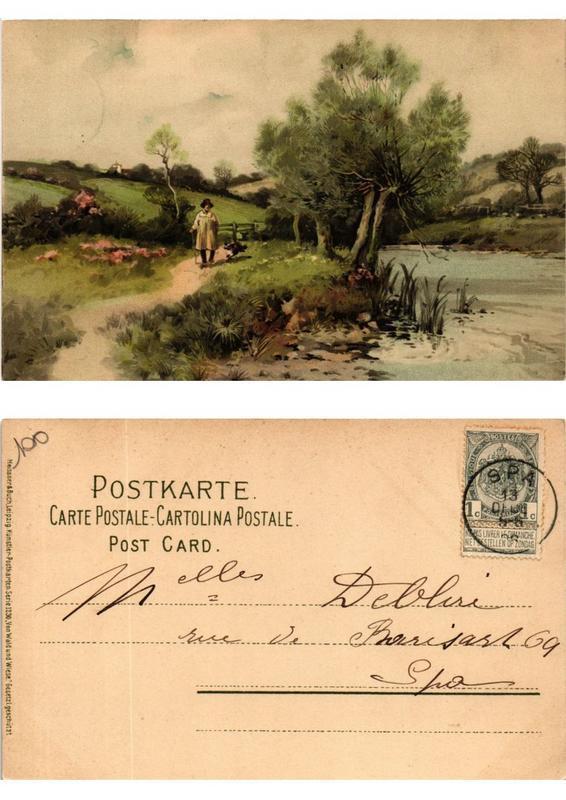 CPA Von Wald und Wiese Meissner & Buch Litho Serie 1230 (730522)