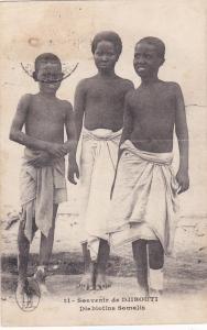 DJIBOUTI , 1919 ; Diablotins Somalis